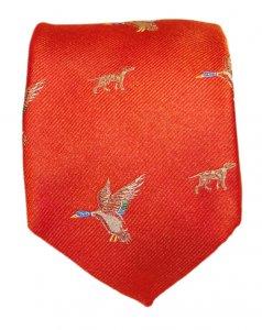 krawatte-ente-orange